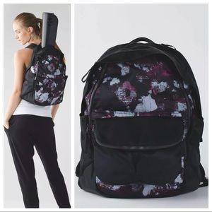 NWT Lululemon Backpack with Crossbody Bag